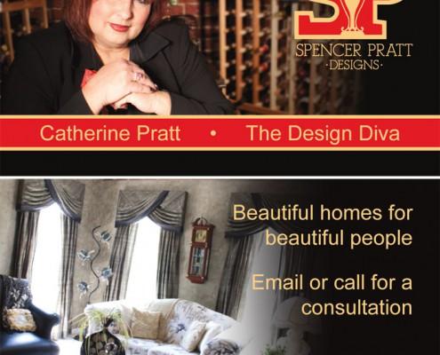 Mayniax Branding, Spencer Pratt Designs, Business Card