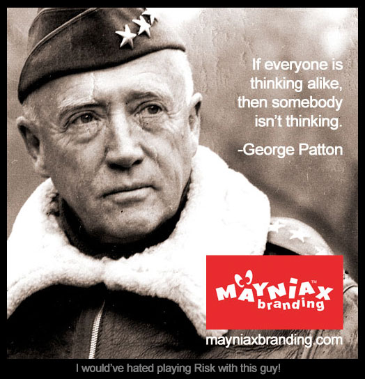 George Patton Mayniax Branding