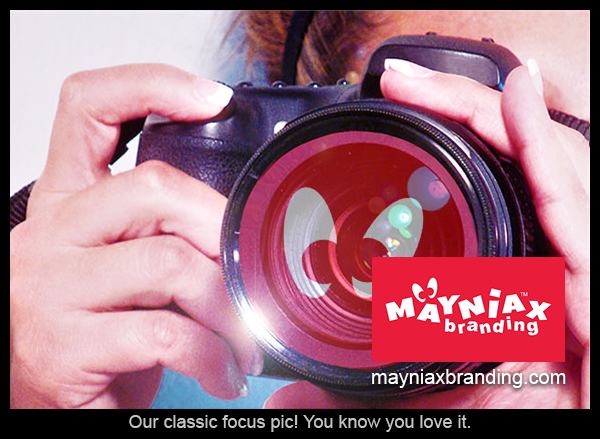 "Mayniax Branding - Our classic ""focus"" pic!"