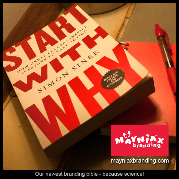 Mayniax Branding - Simon Sinek's Book: Start With Why