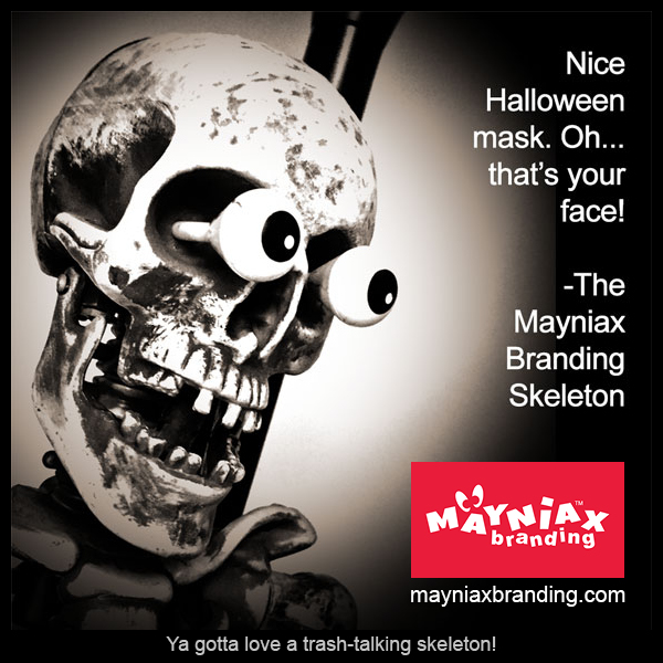The Mayniax Branding Trash-talking Skeleton 2016!