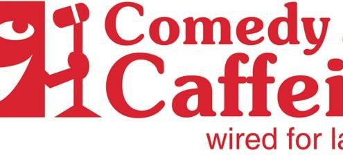 Mayniax Branding, Comedy and Caffeine, Logo